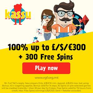 Claim Kassu Casino Free Spins