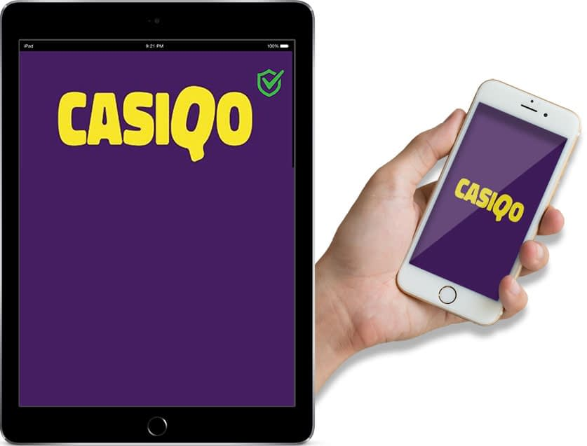Screenshots of Casiqo Casino Ipad and Mobile