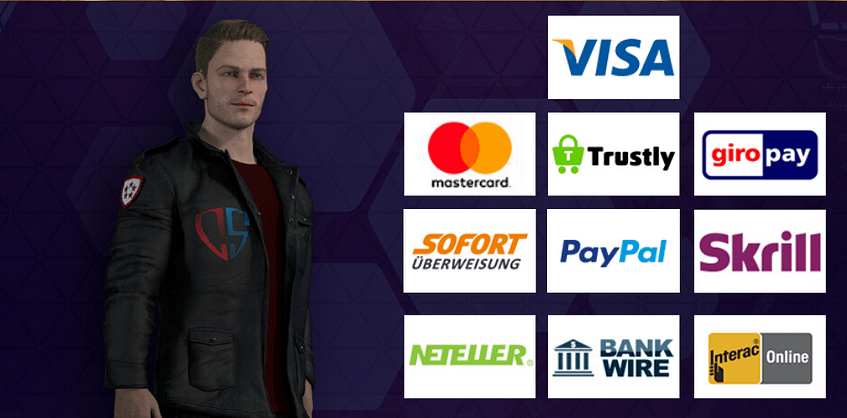 What Are Captain Spins Casino Payment Methods?