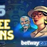 Betway Free Spins Feature