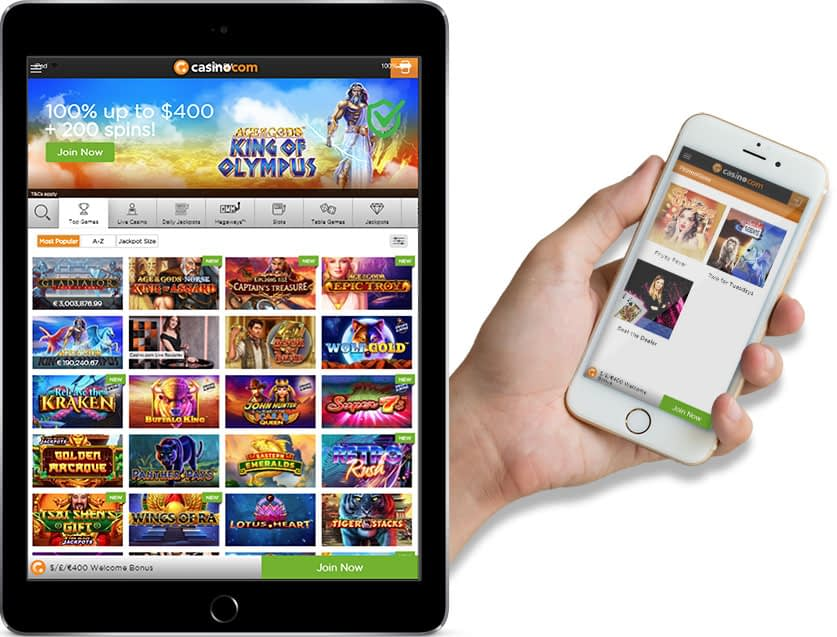 pamper casino mobile login