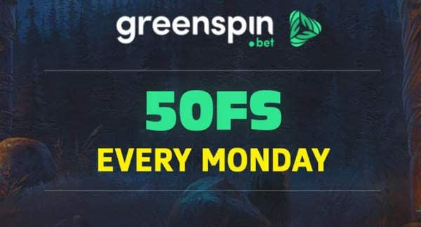 GreenSpin Free Spins