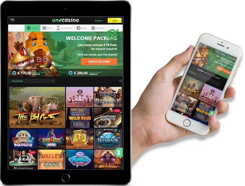 Ipad and Iphone Screenshots of One Casino
