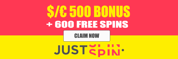 Claim 600 Just Spin Free Spins