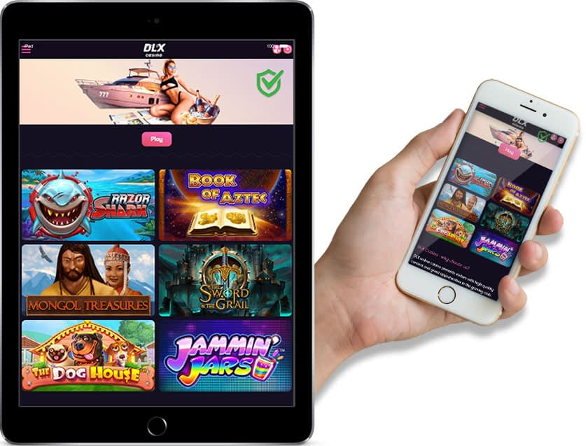 Ipad and Iphone Screenshots of DLX