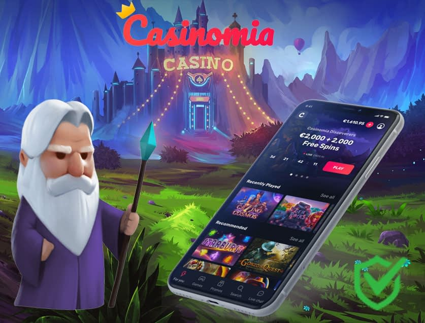 Casinomia Casino Feature