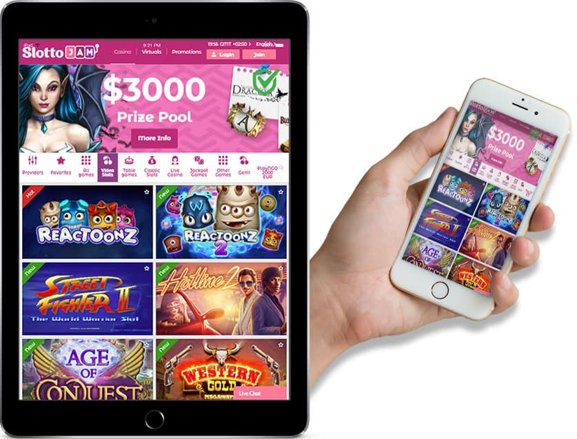 Ipad and Iphone Screenshots of Slotto Jam