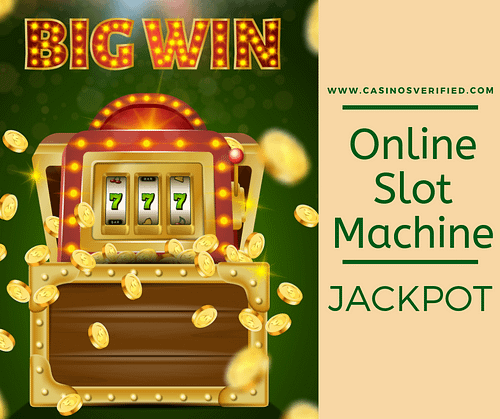Online slot machine jackpot