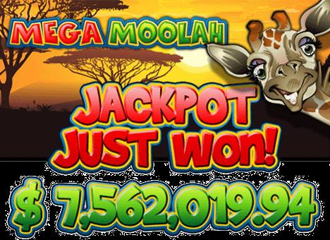 mega moolah progressive jackpot